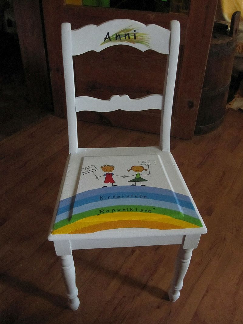 Bemalte Stühle bemalte stühle