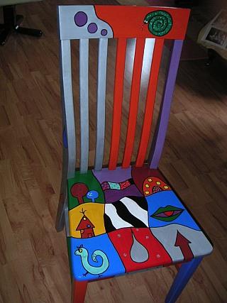 Stühle Bemalen stühle
